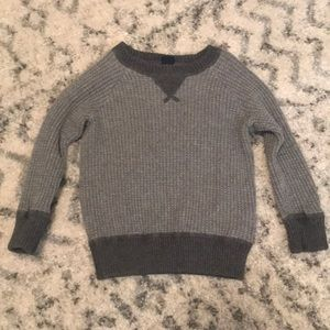 Baby Gap grey sweater size 18-24mo
